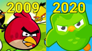Evolution of Angry Birds Games 2009-2020 - YouTube