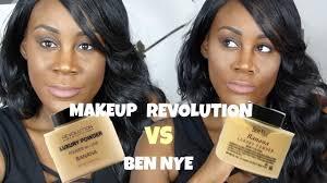 makeup revolution banana powder