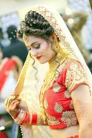 indian bridal makeup hair style