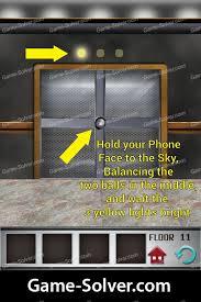 100 floors level 11 game solver