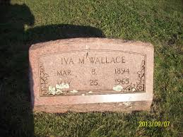Iva M. Hensley Wallace (1894-1965) - Find A Grave Memorial
