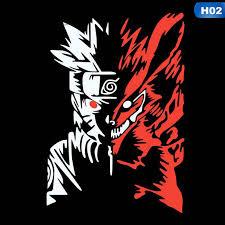 Bolanxiaod Reflective Anime Naruto Decal Sticker Auto Car Decals Stickers Shopee Malaysia
