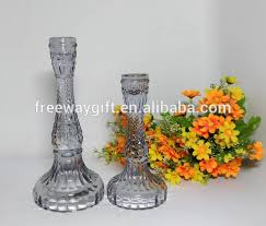 whole colored thick long stem glass