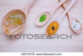 skin care and homemade scrubs aloe