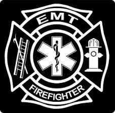 Fire Fighter Ems Emt Maltese Cross Vinyl Decal Sticker Car Truck Window Ebay