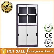 half height two glass sliding door