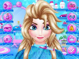 snow white hair salon barbie doll