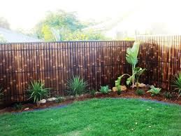 Bamboo As Ideas Bamboo As A Fence With Trees Banana Image Id 405 Giesendesign Bamboo Garden Fences Fence Design Fence Decor