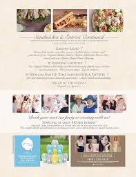 menu of tea with friends restaurant