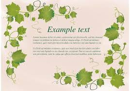 ivy vine frame vector free