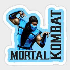 Sub Zero Mortal Kombat Sticker Sega Nintendo Fighting Games Retro 3 00 Picclick