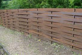 Woven Metal Screen Fencing Bamboo Fence Backyard Fences Garden Fence Panels
