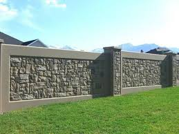 Stone Fence Ideas Really Like This One Muros De Jardin Disenos De Bardas Casas De Ladrillo