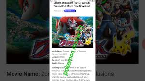 How to download pokemon movie 13 easily - YouTube