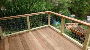 Deck Railing Made With Horse Panels Building A Deck Deck Railings Porch Railing