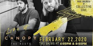 2 Broke Kings w/ songwriter Ross Childress formerly of Collective Soul at  Canopy + the Roots, Dahlonega