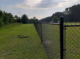 5ft Black Chain Link Fence Installed A To Z Fence Works Facebook