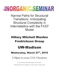 UW-Madison Department of Chemistry