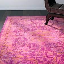 hot pink area rug modern hot pink area