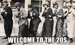 Welcome to the 20s - 20s Girl Boxing | Meme Generator