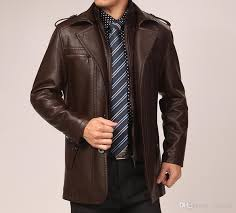 2020 men s leather jacket faux two