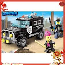 Đồ chơi cho bé xếp hình LEGO xe ô tô cảnh sát, giá chỉ 220,000đ! Mua ngay  kẻo hết!
