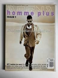 Arena Homme Plus #1 primavera/verano 1994-Michael Massie, Hilary Snyder |  eBay