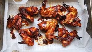 oven barbecued en wings recipe