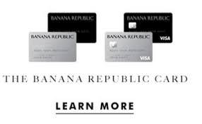 lucrative banana republic visa 5x offer