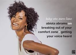 Baby One More Time: Abiola Abrams on Breaking Out Of Your Comfort ...