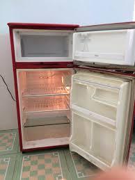 Bán tủ lạnh Sanyo 110L mini màu đỏ - chodocu.com