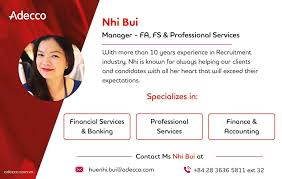 Adecco Vietnam - Connect with Nhi Bui on LinkedIn at... | Facebook