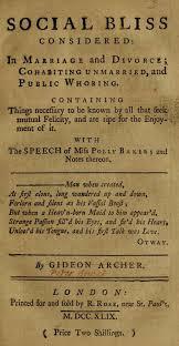 "The ""Speech of Miss Polly Baker"" | Kelly's Blog"