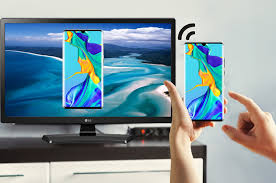 how to mirror huawei p30 to tv