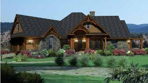 craftsman style house plan 3 beds 2 5
