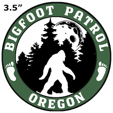Oregon Bigfoot Patrol Decorative Car Truck Decal Window Sticker Vinyl Die Cut Vacation Travel Souvenir X File Unexplained Mysteries Space Ship Ufo Flying Saucer Cryptid Sasquatch Walmart Com Walmart Com