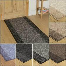 cream stripe hallway carpet runner rug