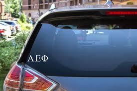 Alpha Epsilon Phi Sticker Greek Sorority Decal For Car Laptop Window Pro Graphx