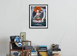 White Tara From Monastery Wall Lhasa Tibet Framed Photographic Print Vassi Koutsaftis Allposters Com