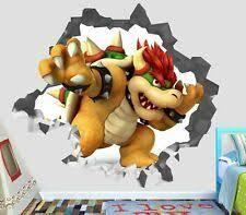 Super Mario 3d Bowser Jr Dog Tag Decal Sticker 7 For Sale Online