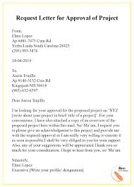 request letter template for approval