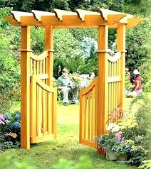 garden arches trellises arbors and