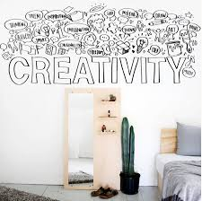 Creativity Wall Decal Classroom Wall Decal Office Wall Decal School Office Decor Classroom Decor Teacher Decal Creativity Sticker Office Wall Decals School Office Decor Classroom Walls
