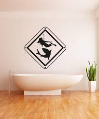 Vinyl Wall Decal Sticker Scuba Sign Os Aa753 Stickerbrand