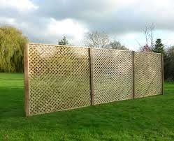 Privacy Diamond Trellis Chart Fencing
