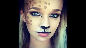 leopard print makeup you
