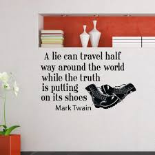 Shop Mark Twain Quote Vinyl Wall Art Decal Sticker Free Shipping On Orders Over 45 Overstock 10425713
