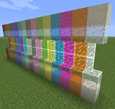 glass pane minecraft stained glass