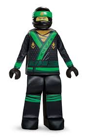 Ninjago Movie Lego Lloyd Child Costume Age 7 Top and Mask Only. for sale  online