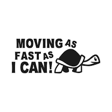 Movin As Fast As I Can Turtle Slow Funny Car Window Decal Bumper Vinyl Truck Sticker Racing Mechanic Posters Car Stickers Aliexpress